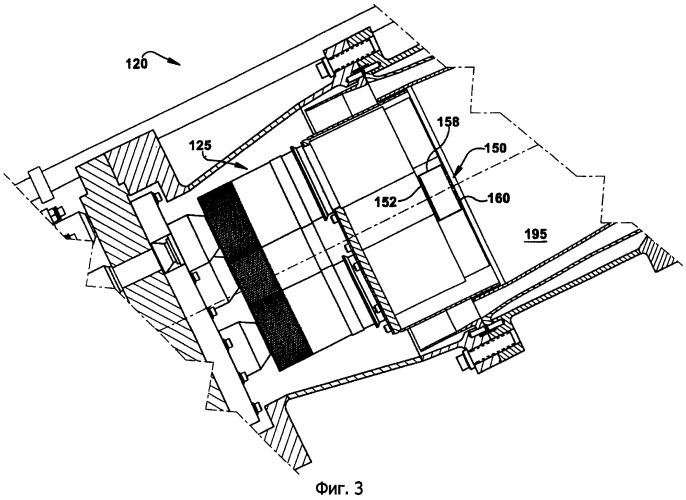 Система уменьшения динамики камеры сгорания