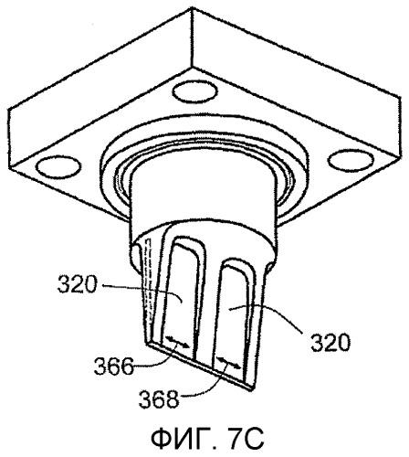 Вихревой расходомер с пластиной датчика вихревых колебаний