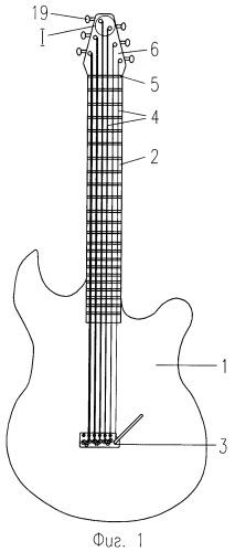 Колок струнного музыкального инструмента