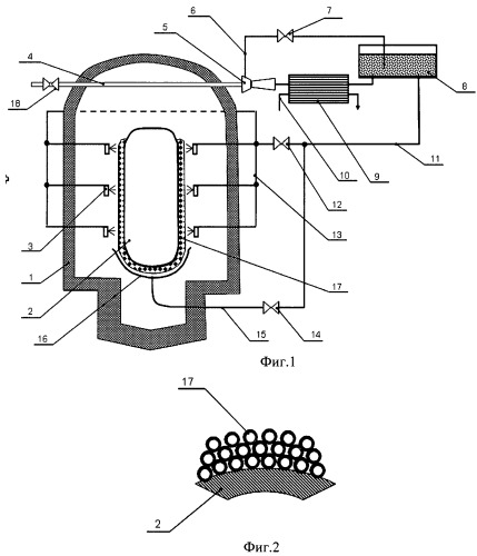 Система пассивной безопасности ядерной энергетической установки