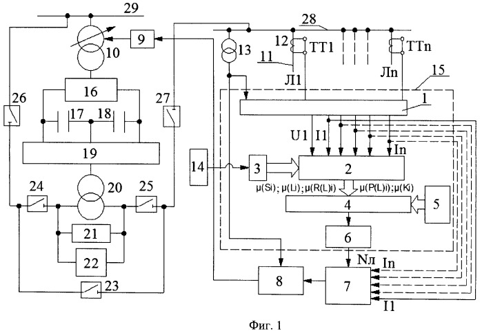 Устройство динамического управления режимом напряжения в электрической сети с применением fuzzy-логики