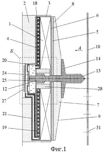 Индукционно-динамический электродвигатель циклического действия