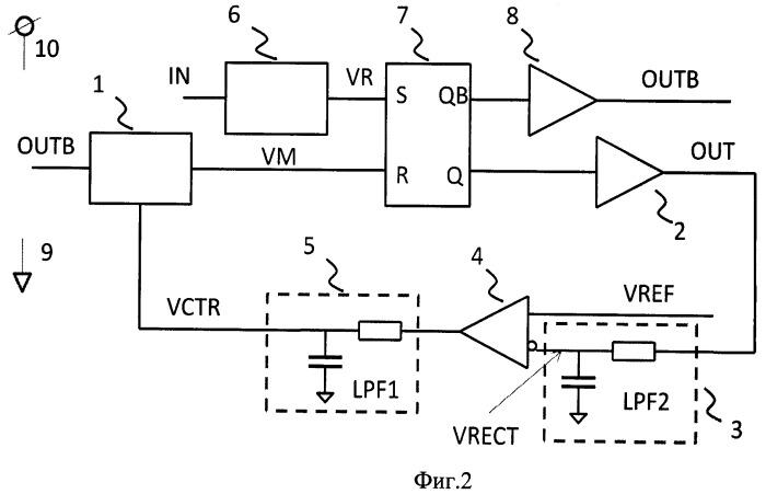Устройство коррекции скважности входного сигнала
