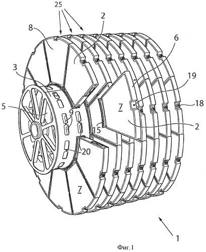 Фильтрующий элемент дискового фильтра
