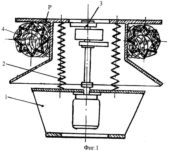 Тороидальное устройство для очистки семян
