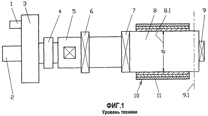 Способ и устройство для намотки металлической полосы