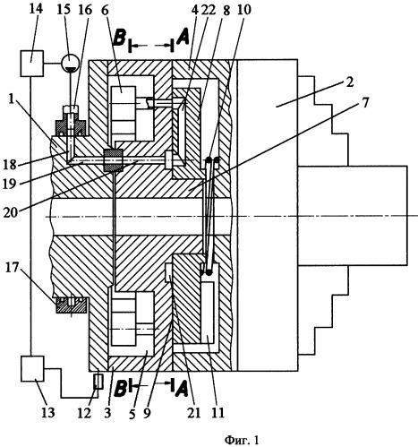 Устройство автоматической балансировки шпиндельных узлов