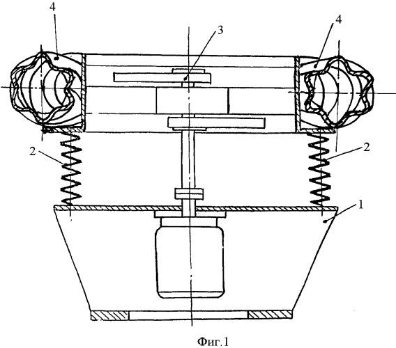 Установка для приготовления растворов с тороидальной рабочей камерой