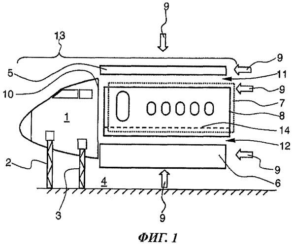 Способ и устройство для изготовления фюзеляжа воздушного судна