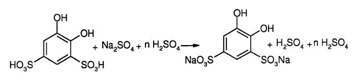 Способ получения дигидроксибензолдисульфонатов металлов