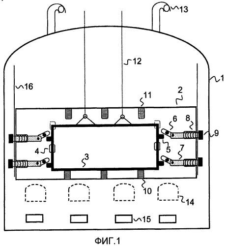 Механизм автоматической блокировки дверей, тел дверей или рам дверей горизонтальных камер коксовых печей