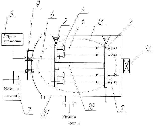 Устройство для резистивного испарения металлов и сплавов в вакууме