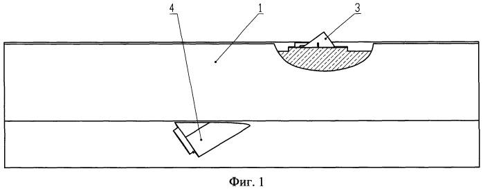 Опалубка для формования вантового узла в железобетонном пролетном строении