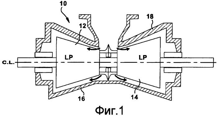 Опорная планка с регулируемой прокладкой для диафрагм турбины