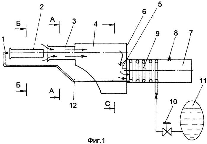 Пульсирующий воздушно-реактивный двигатель (пуврд)