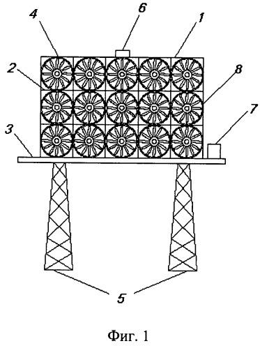 Ветроколесо и ветроэлектростанция на его основе
