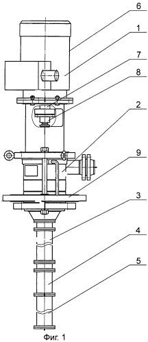 Вертикальный нефтяной электронасосный агрегат (варианты) и валопровод вертикального электронасосного агрегата (варианты)