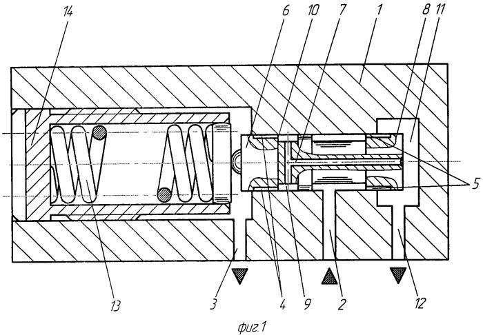 Гидравлический редукционный клапан