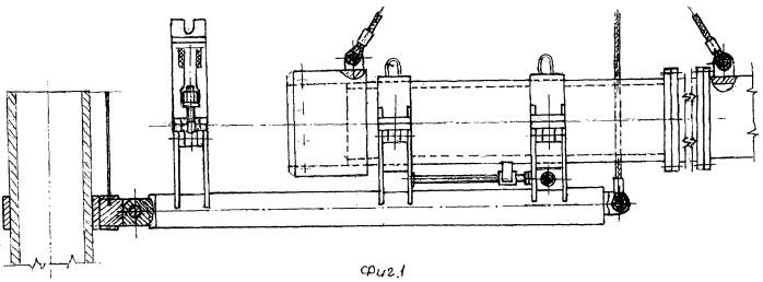 Устройство для восстановления разрушенных глубинных трубопроводов