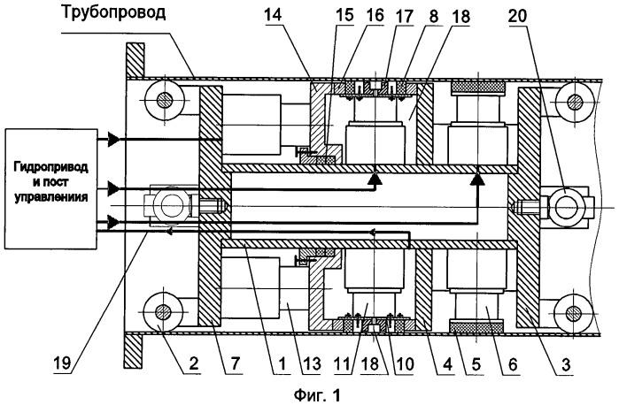 Способ и мобильное устройство для перекрытия трубопровода