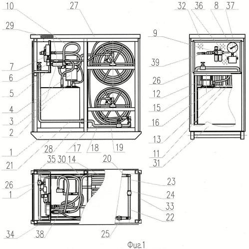 Установка для принудительной подачи уплотняющей смазки в уплотнительное устройство скважинного лубрикатора