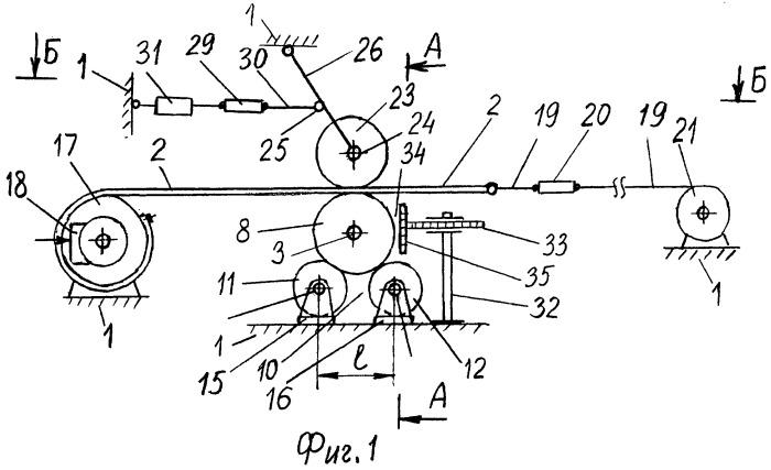 Стенд для исследования параметров амортизирующего устройства при загрузке ленточного конвейера крупнокусковым грузом