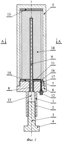 Стенд для исследования электромагнитного излучения твердого тела, например образца горной породы