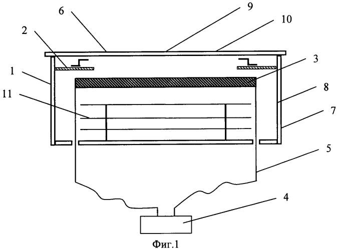 Устройство нагрева подложки для установки изготовления полупроводниковой структуры