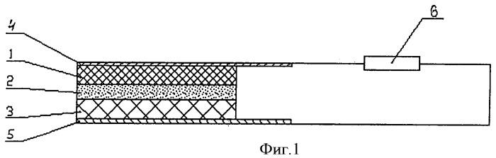 Пиротехнический источник электрического тока