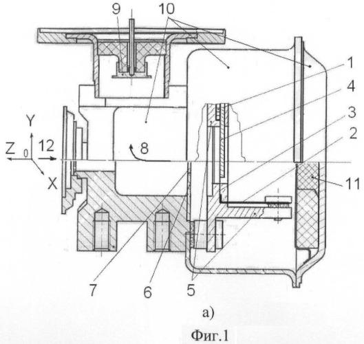 Индикатор атомного пучка цезиевой атомно-лучевой трубки