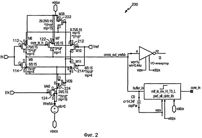 Регулируемое входное приемное устройство для высокоскоростного интерфейса с низким уровнем мощности