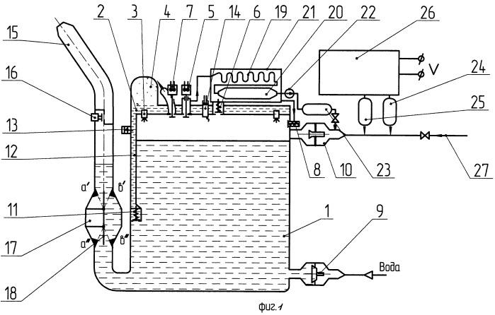 Гидроимпульсная дождевальная установка
