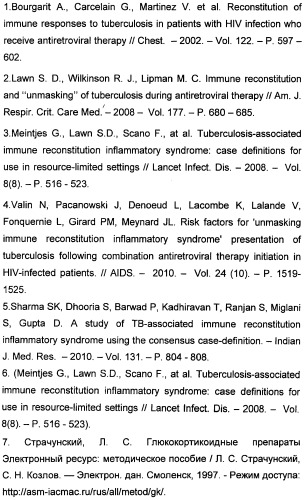 Способ определения воспалительного синдрома восстановления иммунитета у больных с лекарственно-устойчивым туберкулезом и вич-инфекцией на фоне применения высокоактивной антиретровирусной терапии