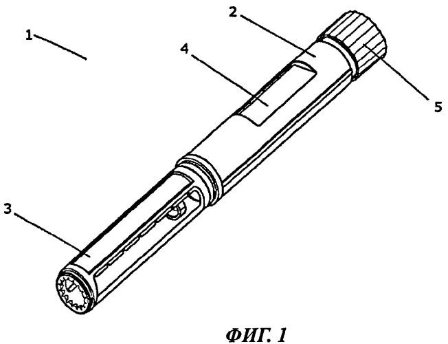 Инъекционное устройство, содержащее стопорную гайку