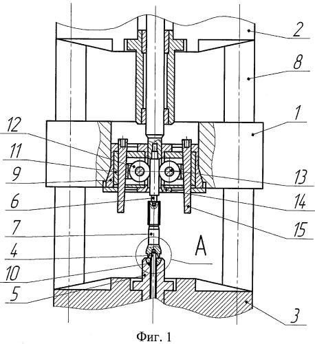 Устройство для повышения точности шлицевых профилей на валах при холодном пластическом деформировании