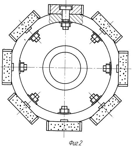 Сборный торцовый абразивный круг