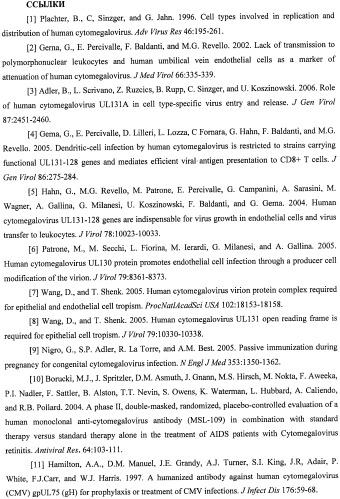 Антитела, нейтрализующие цитомегаловирус человека, и их применение