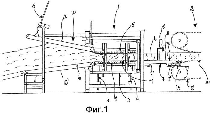 Способ и устройство для улучшения способности выдерживать прогон холста из непрерывного минерального волокна