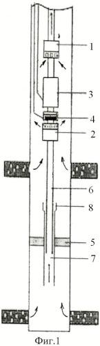 Насосная установка для одновременно-раздельной эксплуатации двух пластов в скважине