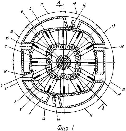 Роторный двигатель внутреннего сгорания (варианты)