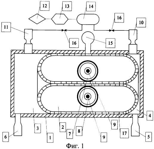 Способ преобразования энергии текучего агента в механическую работу и устройство для его осуществления
