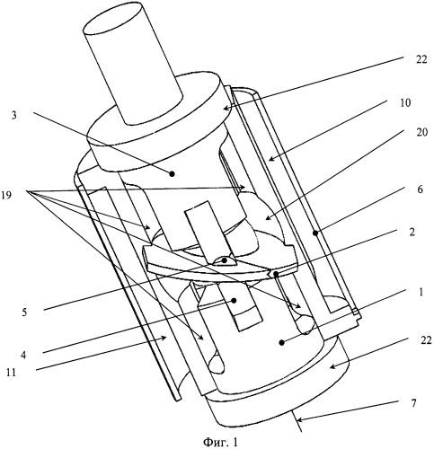 Роторная объемная машина