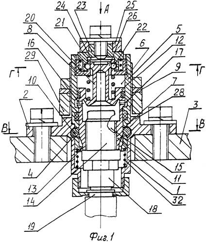 Разъемное соединение разделяемых в процессе эксплуатации частей изделия и узел фиксации разъемного соединения