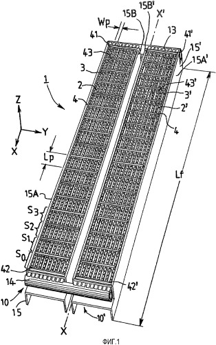 Кольцевая печь, включающая ямки для обжига с большим горизонтальным аспектным отношением, и способ обжига в ней углеродосодержащих изделий