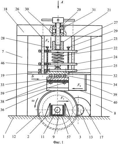 Стенд для исследования взаимодействия колеса с рельсом железнодорожных транспортных средств