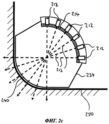 Устройство для ультразвукового контроля изделия, имеющего сложный контур
