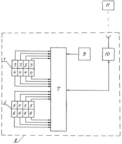 Способ мобильного контроля содержания вредных газовых компонентов в воздухе и устройство для его осуществления