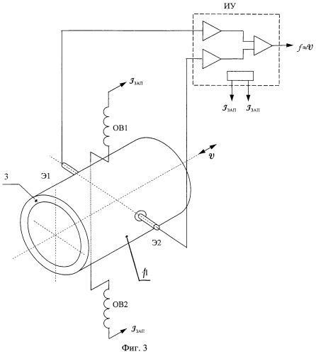 Датчик угловых ускорений с жидкостным ротором