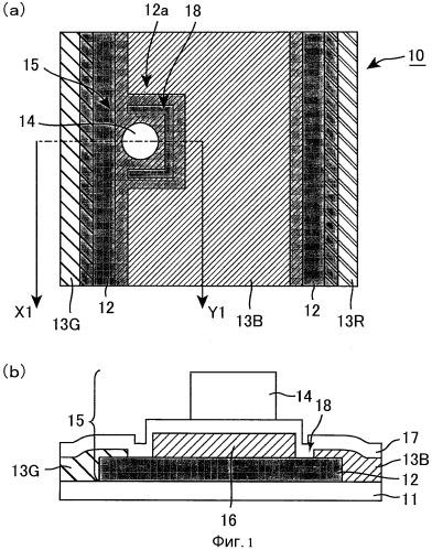 Подложка цветового фильтра и жидкокристаллическое устройство отображения