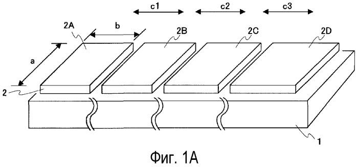 Массив полупроводниковых светоизлучающих элементов и способ его изготовления